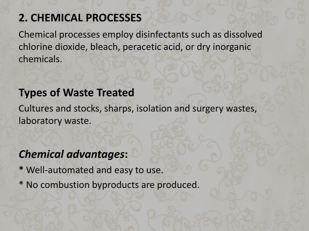 2. CHEMICAL PROCESSES
