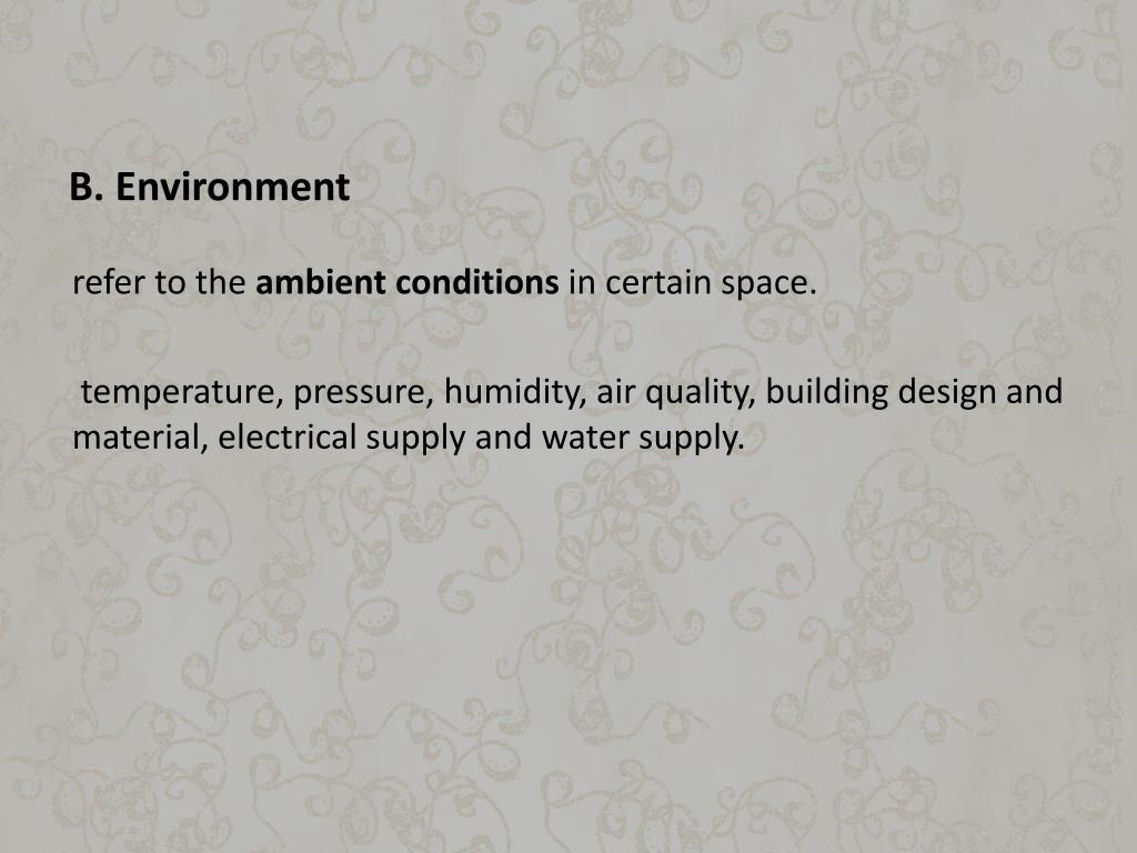 B. Environment