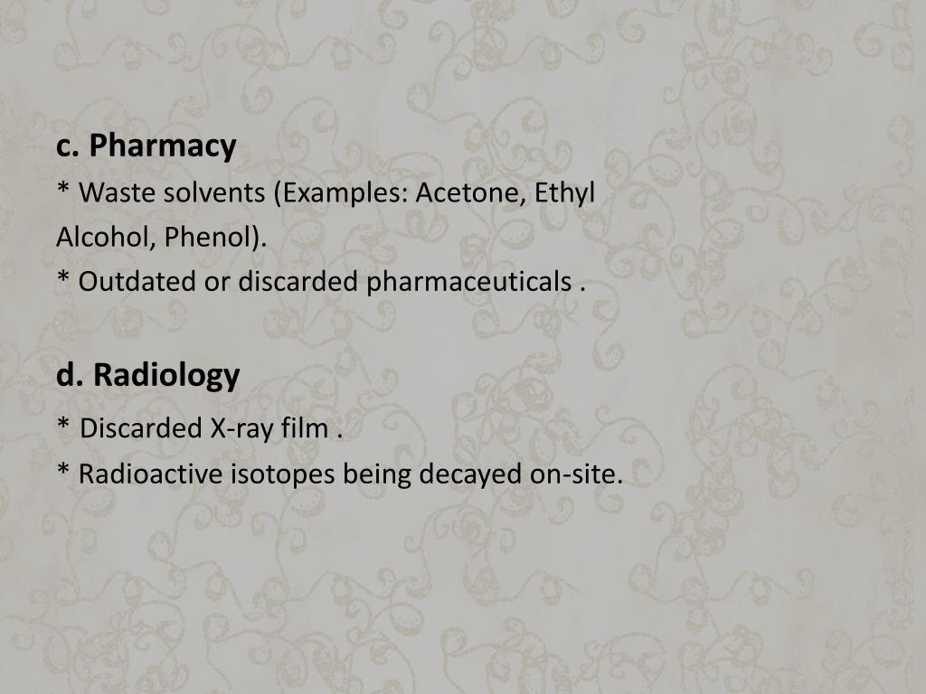 c. Pharmacy