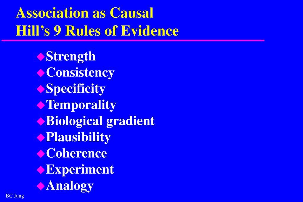 Association as Causal