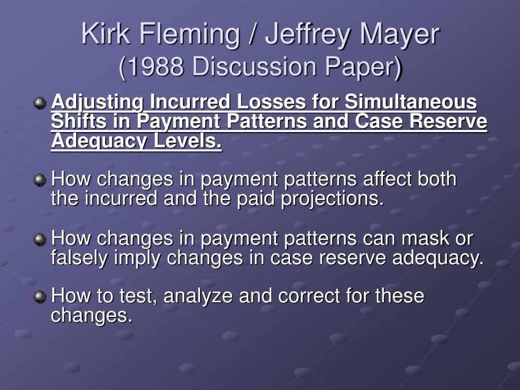 Kirk Fleming / Jeffrey Mayer
