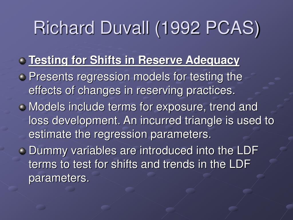 Richard Duvall (1992 PCAS)