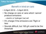 benefit in kind on cars