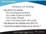 company car strategy