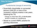 fundamental change of ownership