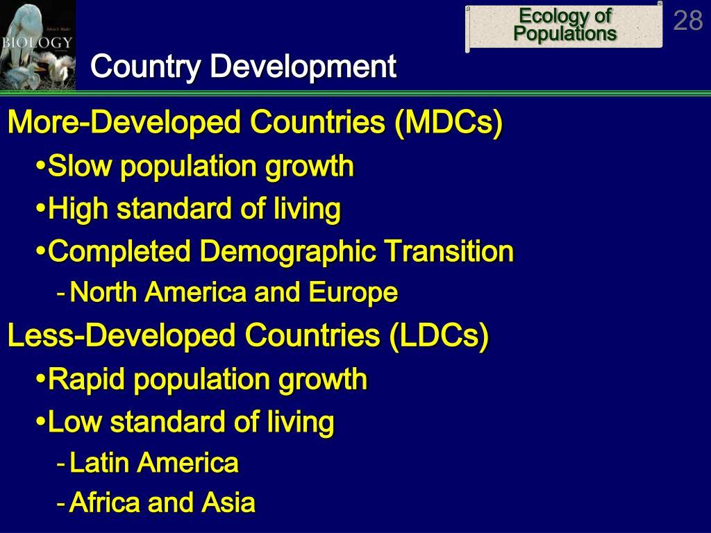 Country Development