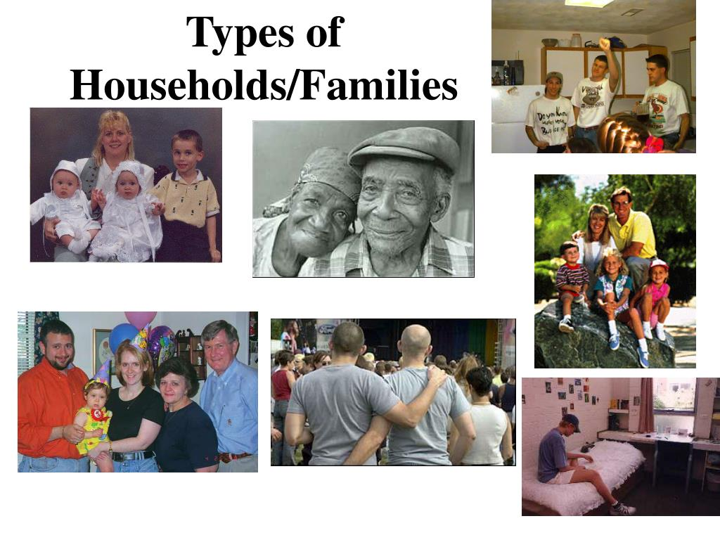 Types of Households/Families