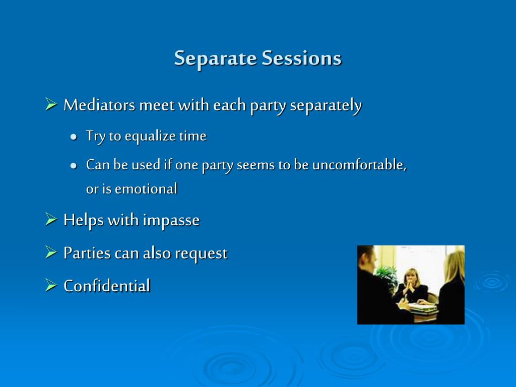 Separate Sessions