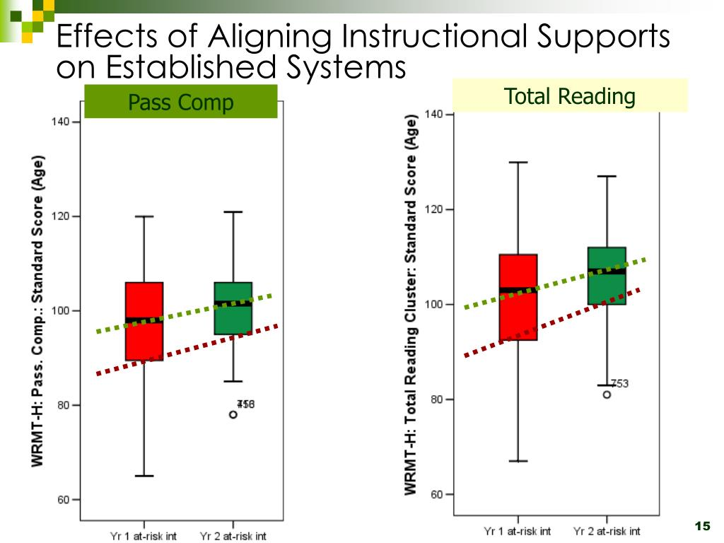 Effects of Aligning Instructional Supports on Established Systems