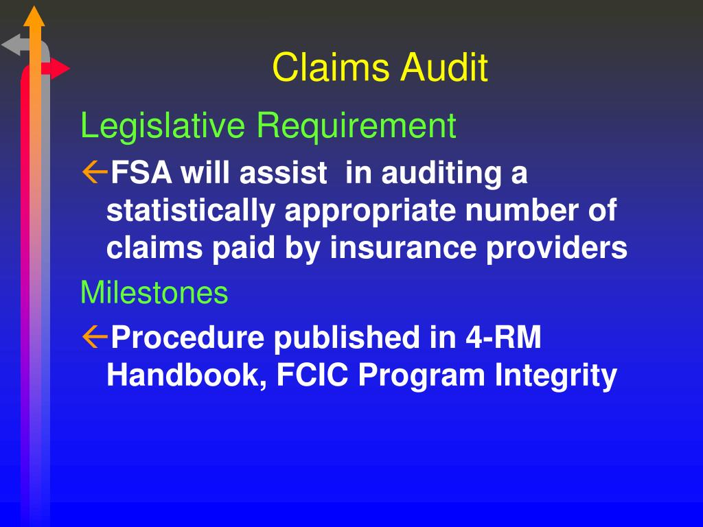 Claims Audit