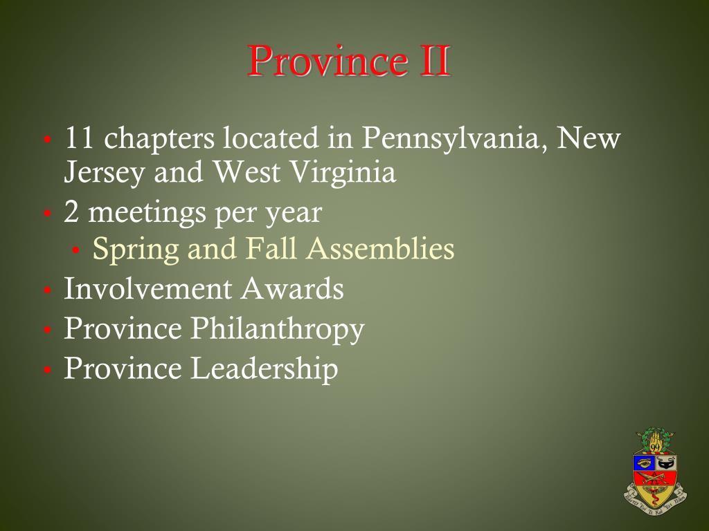 Province II