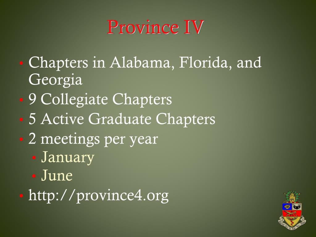 Province IV