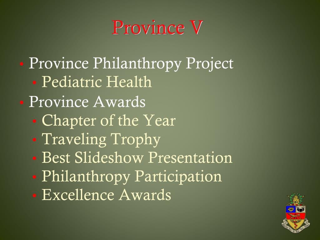Province V