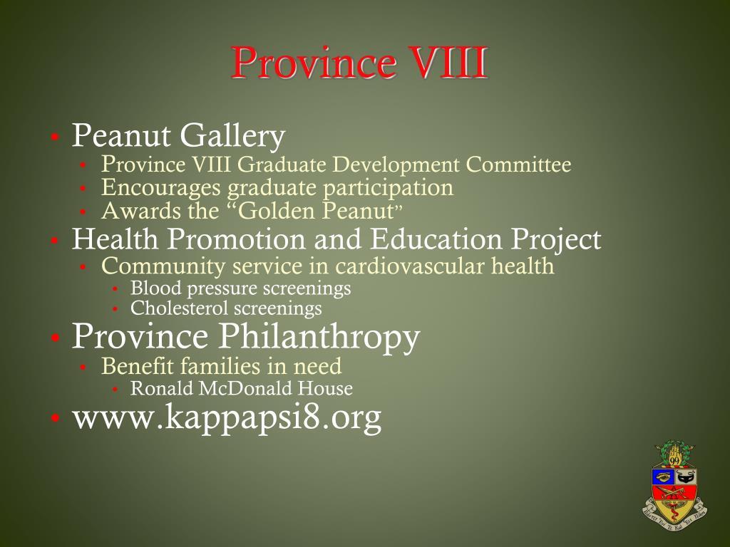 Province VIII