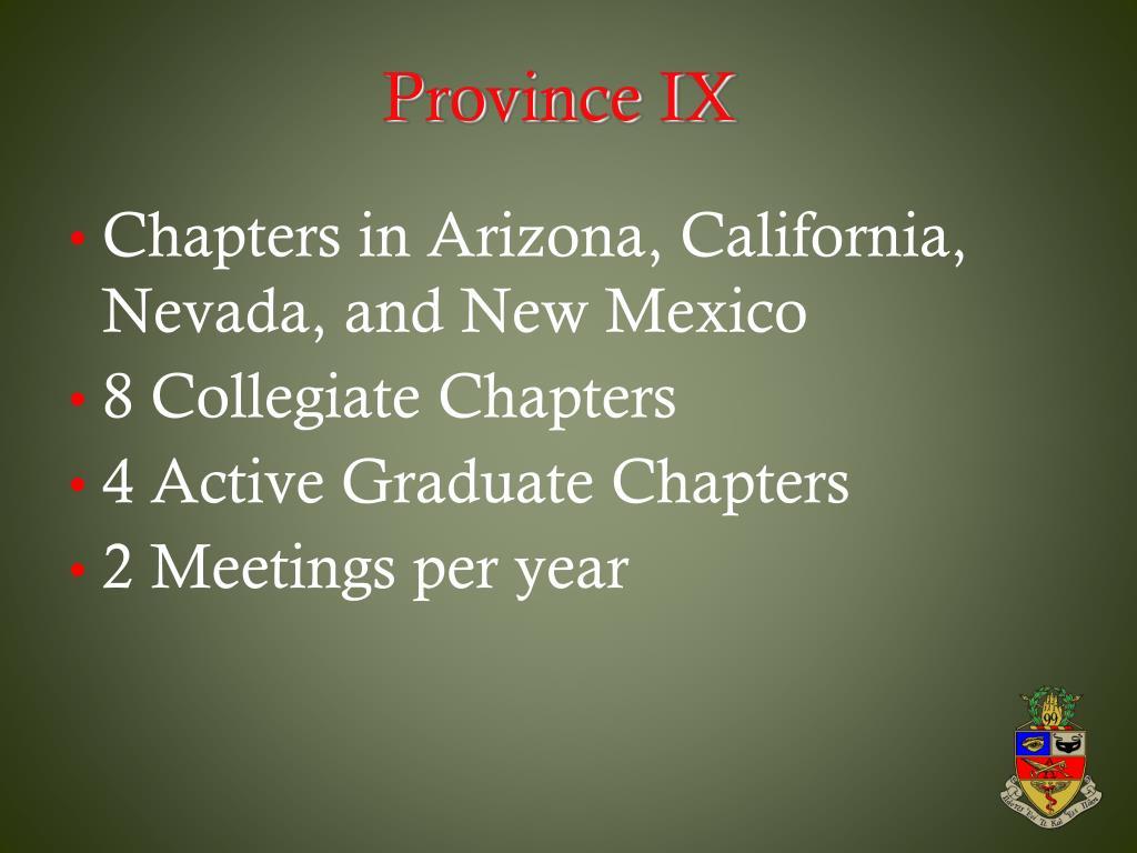 Province IX
