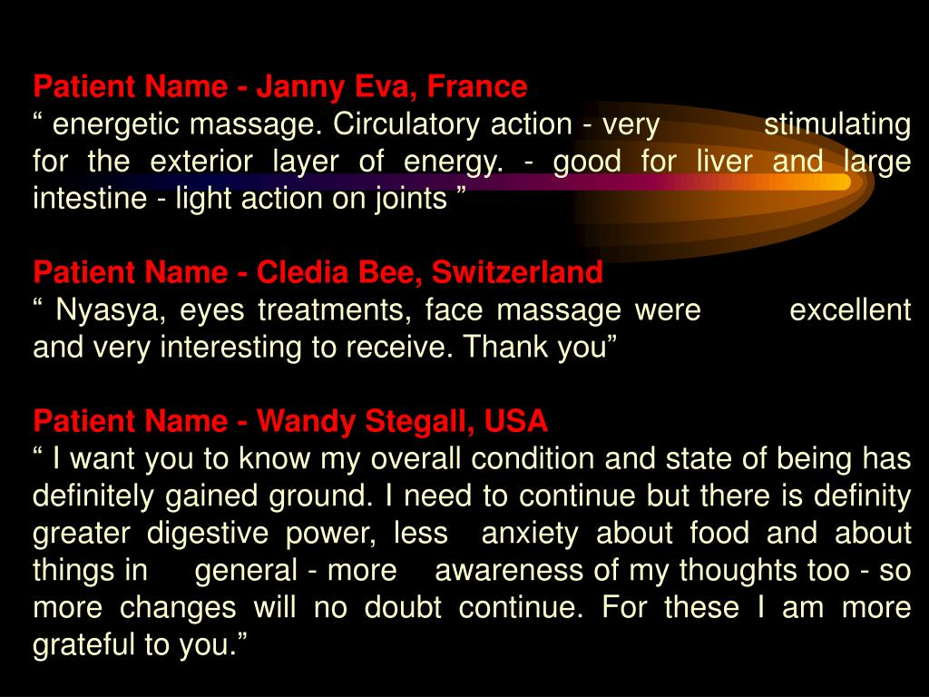 Patient Name - Janny Eva, France