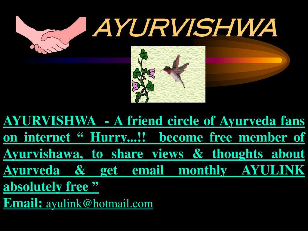 AYURVISHWA