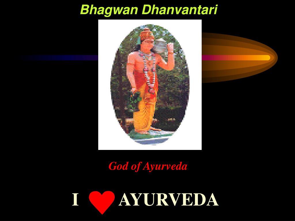 Bhagwan Dhanvantari