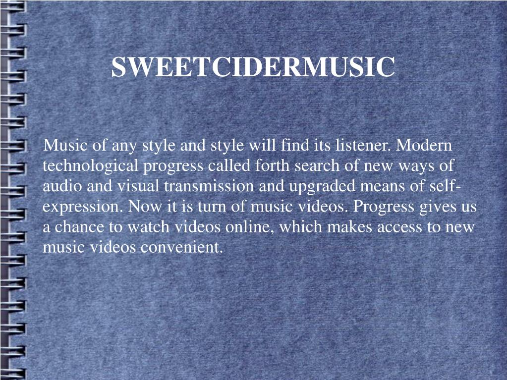 Music of any style and style will find its listener. Modern technological progress called forth search of new ways of audio and visual transmission and upgraded means of self-expression. Now it is turn of music videos. Progress gives us a chance to watch videos online, which makes access to new music videos convenient.