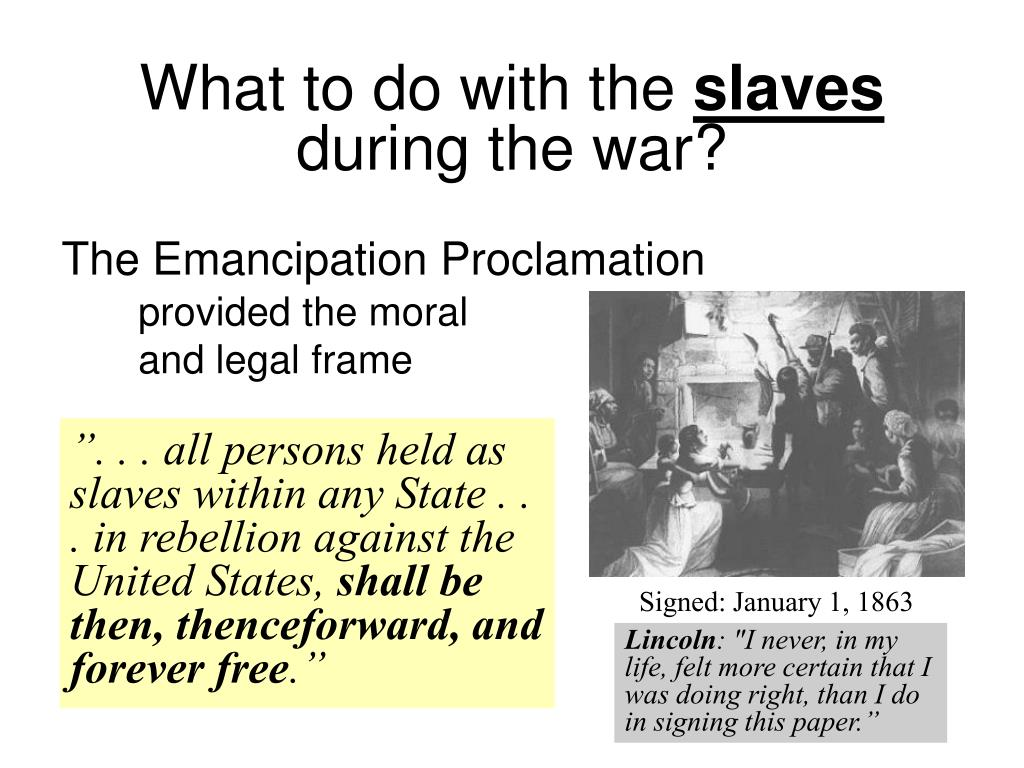 """"""". . . all persons held as slaves within any State . . . in rebellion against the United States,"""