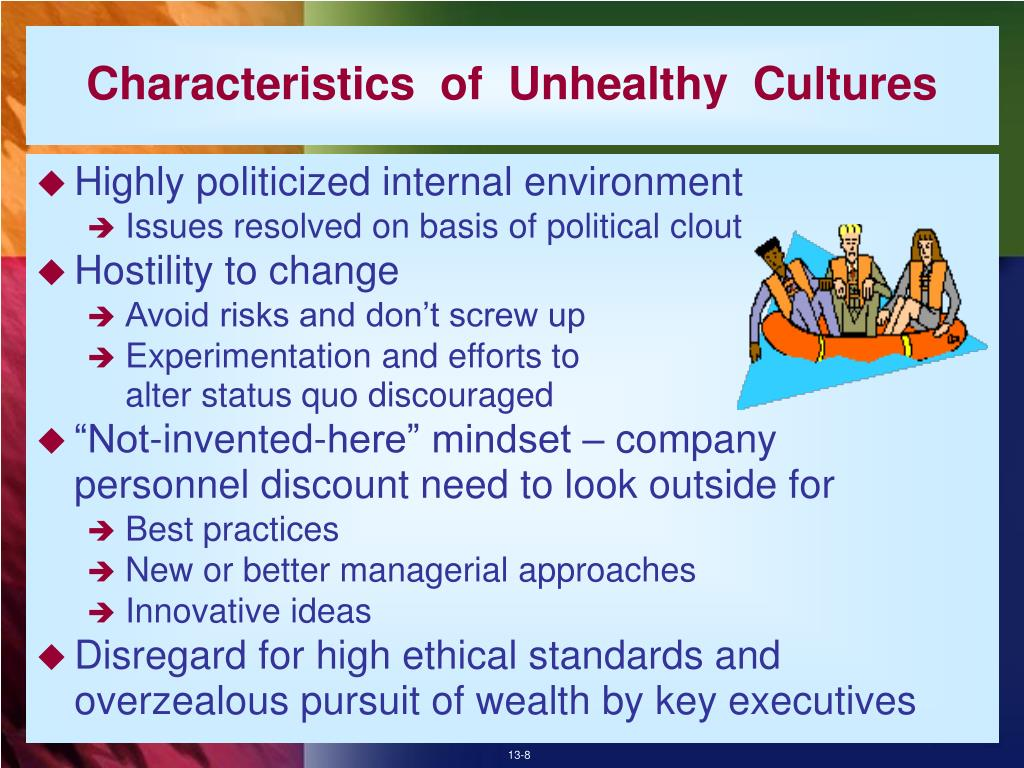 Characteristics  of  Unhealthy  Cultures