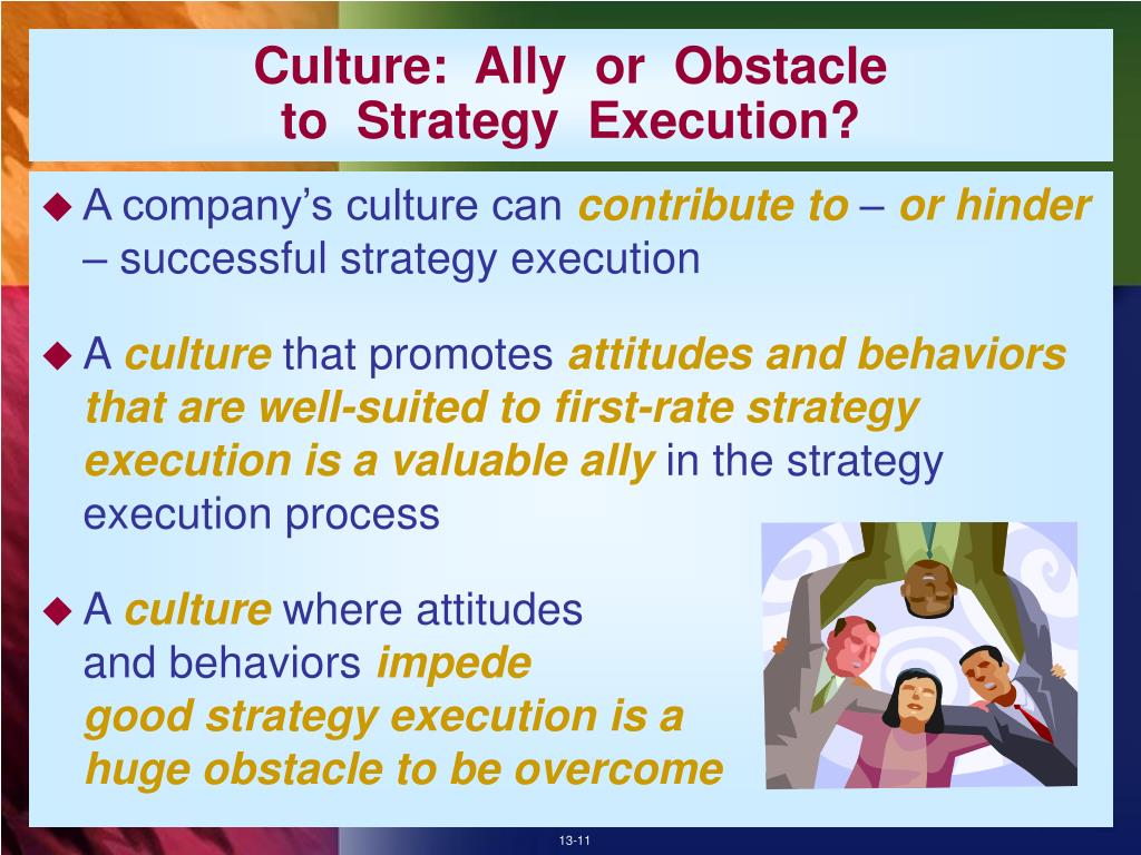 Culture:  Ally  or  Obstacle