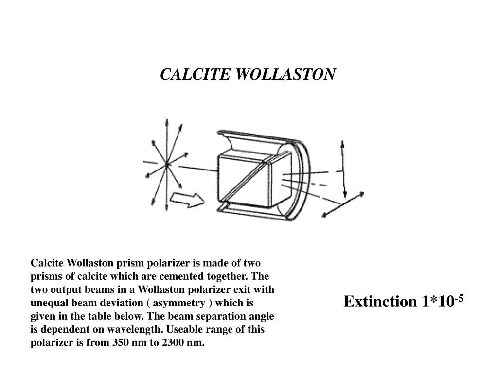 CALCITE WOLLASTON