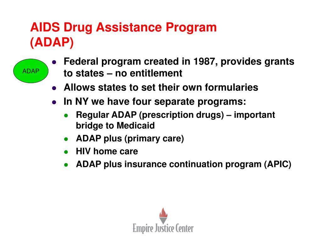 AIDS Drug Assistance Program (ADAP)