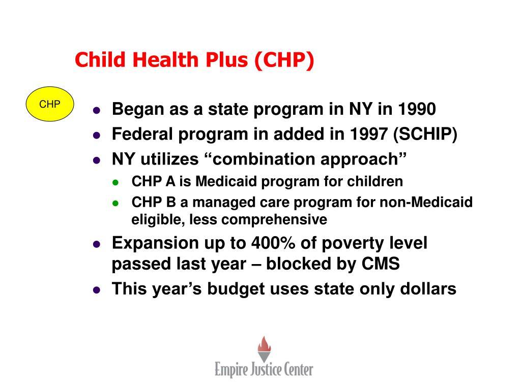 Child Health Plus (CHP)