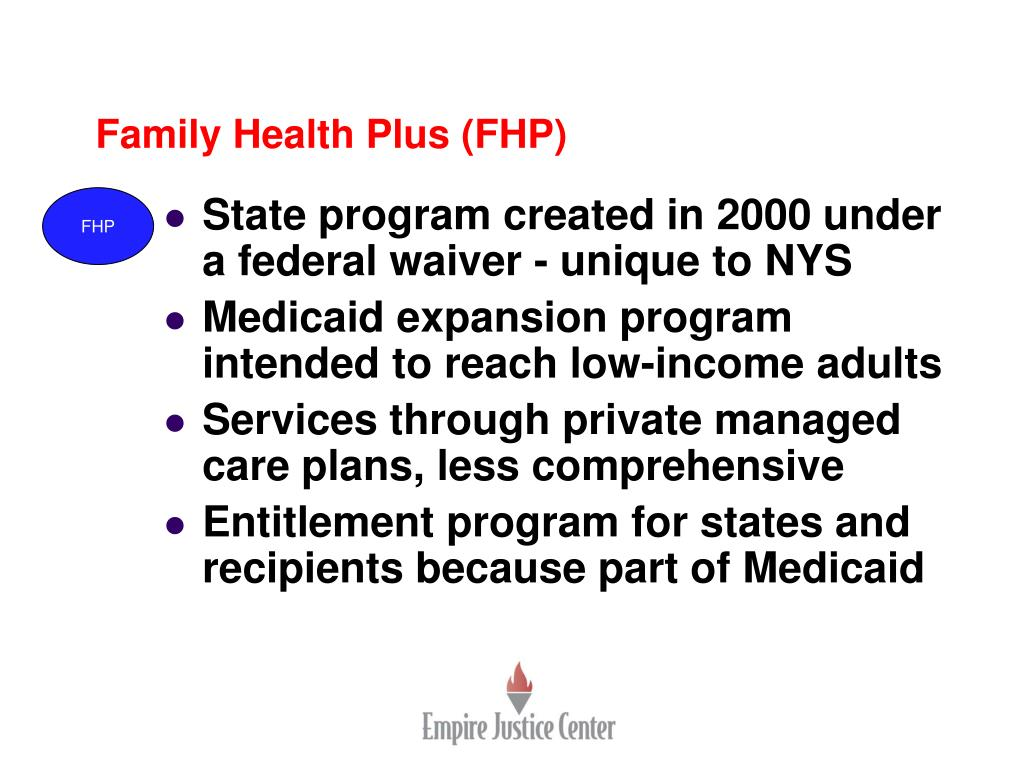 Family Health Plus (FHP)