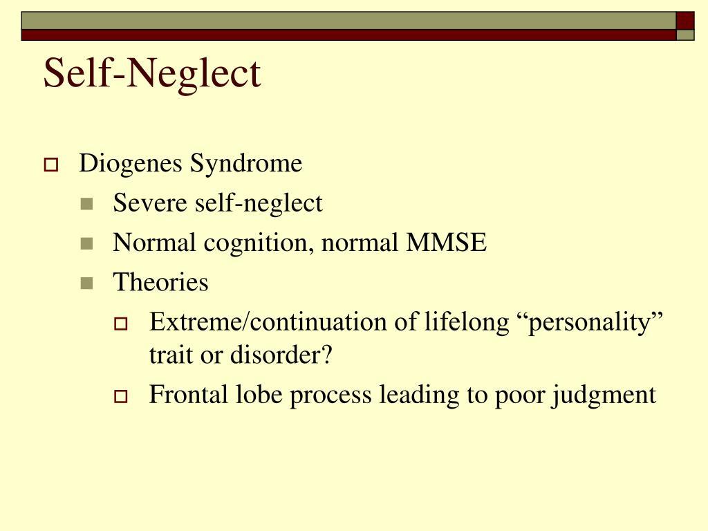 Self-Neglect