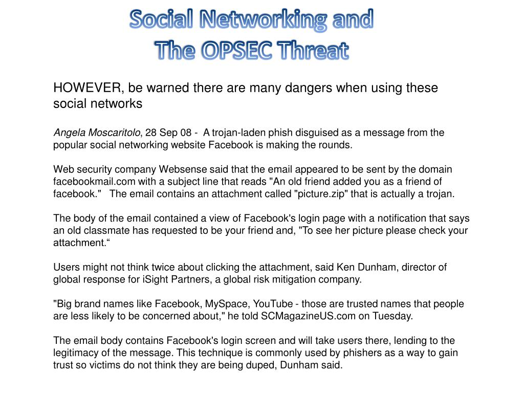 Social Networking and