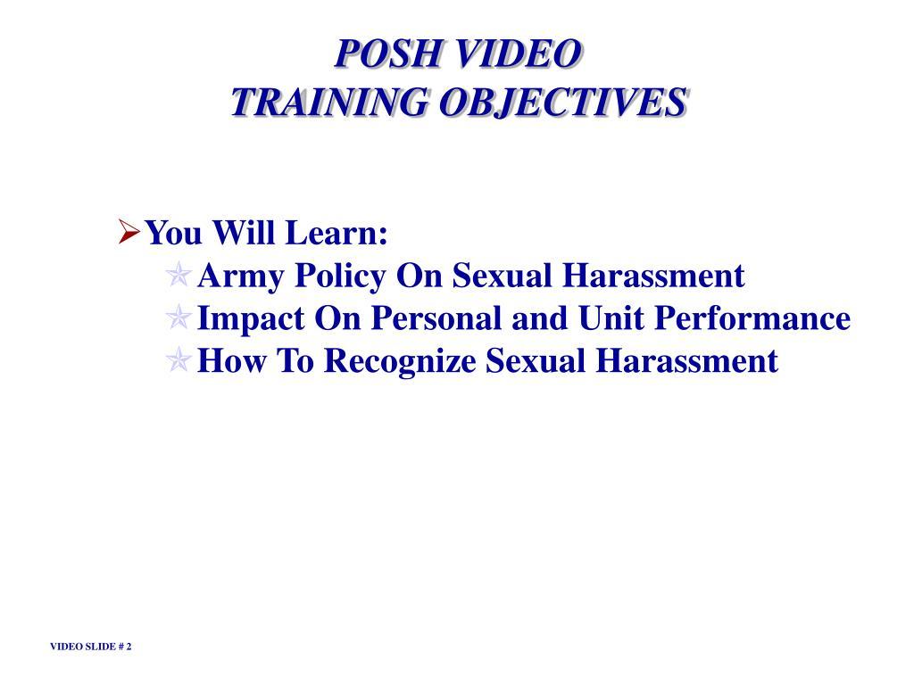 POSH VIDEO