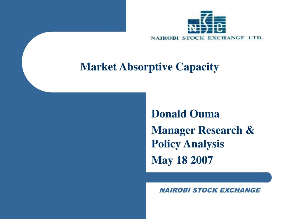 Market Absorptive Capacity