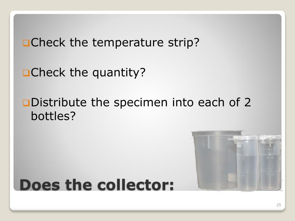 Check the temperature strip?
