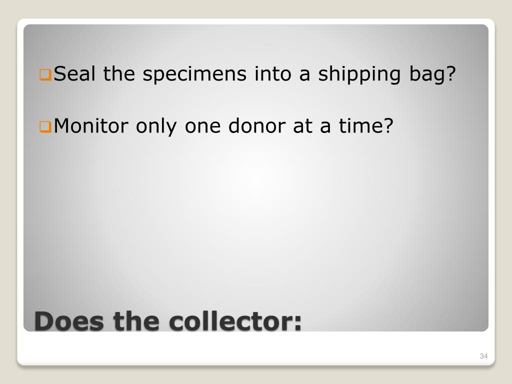 Seal the specimens into a shipping bag?