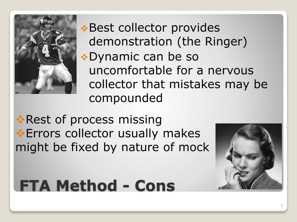 Best collector provides demonstration (the Ringer)