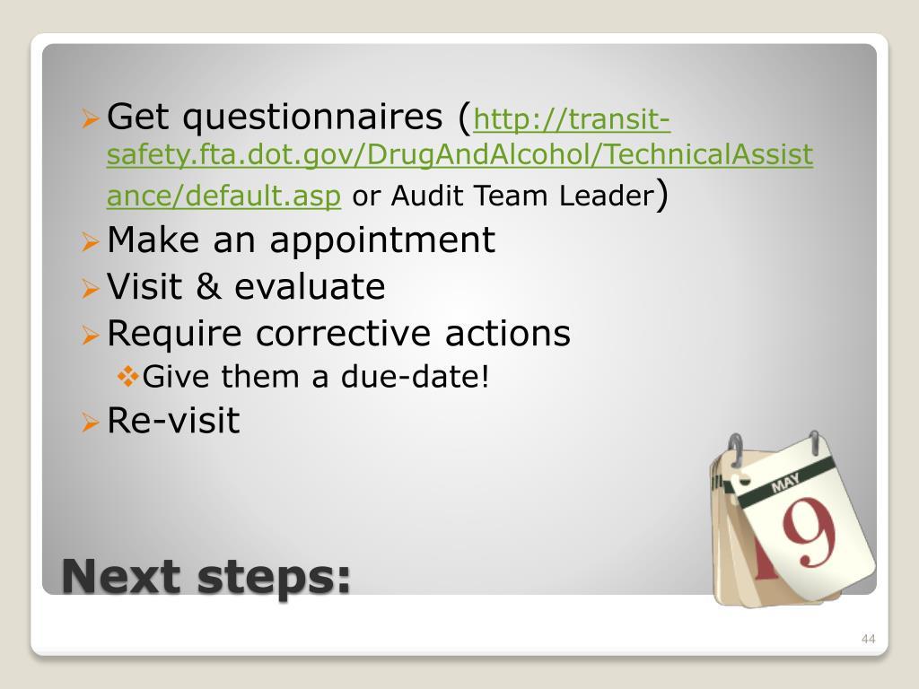 Get questionnaires (