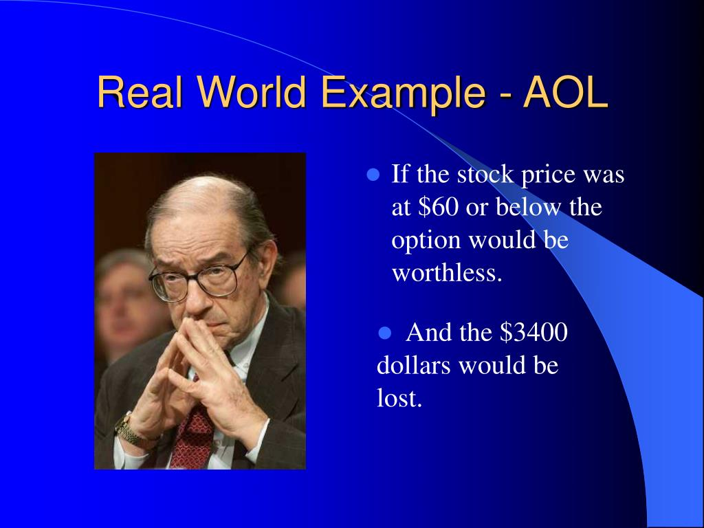 Real World Example - AOL