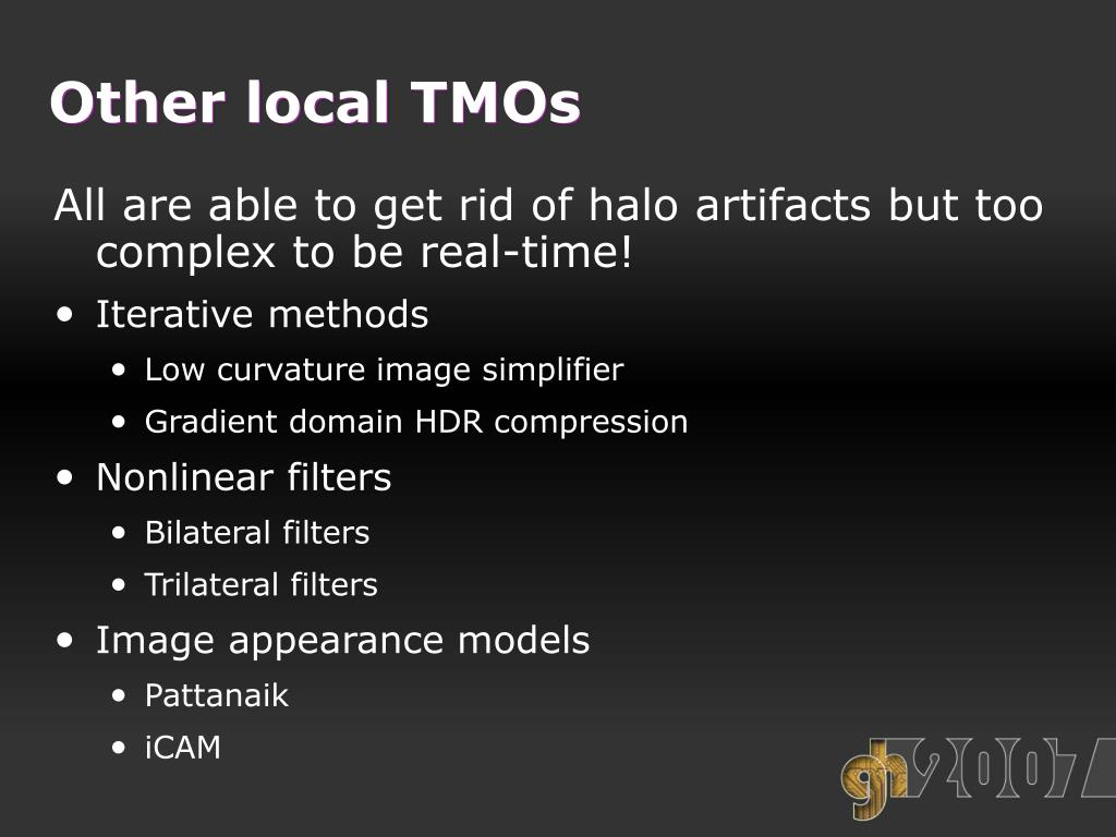 Other local TMOs