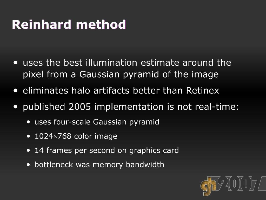 Reinhard method