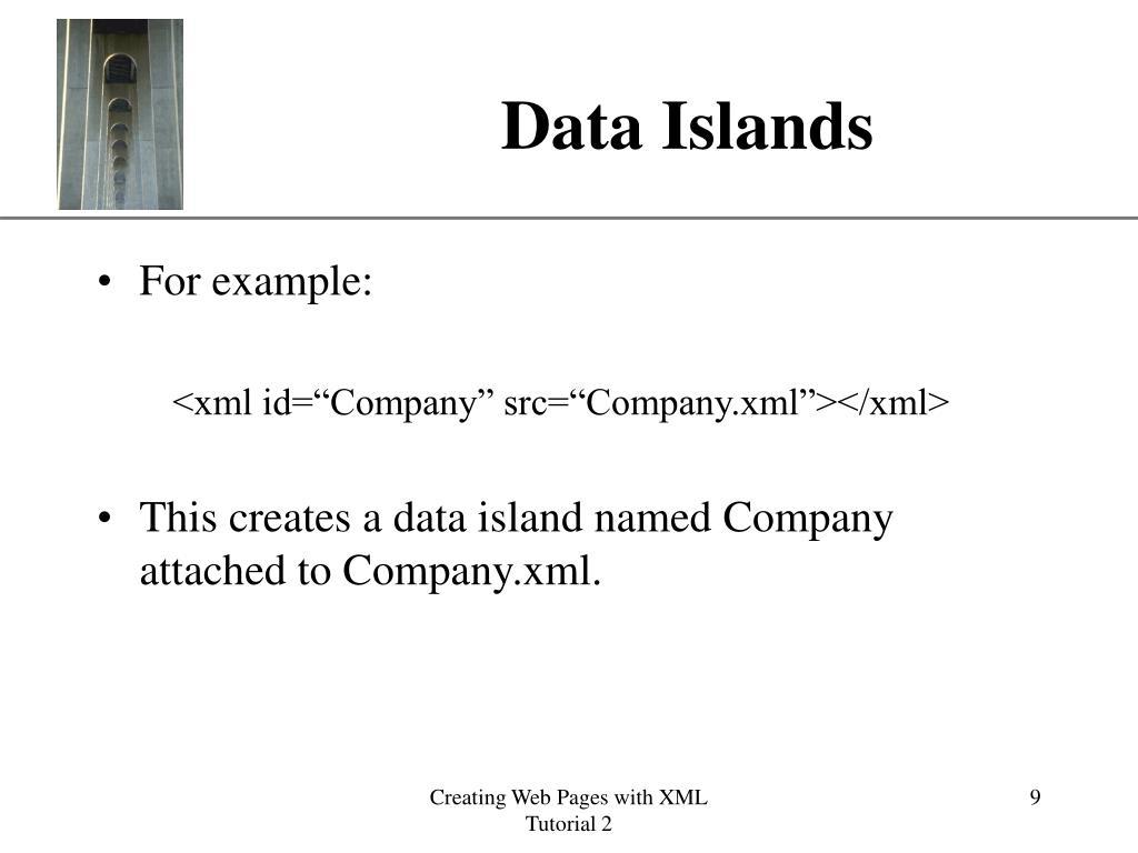 Data Islands