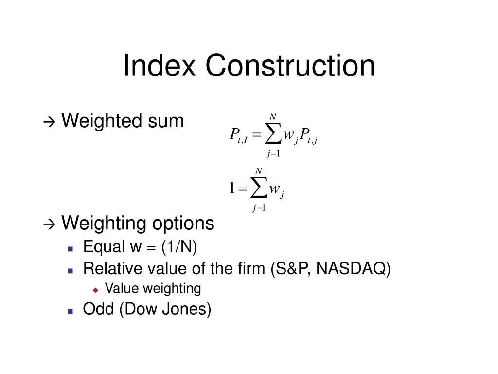 Index Construction