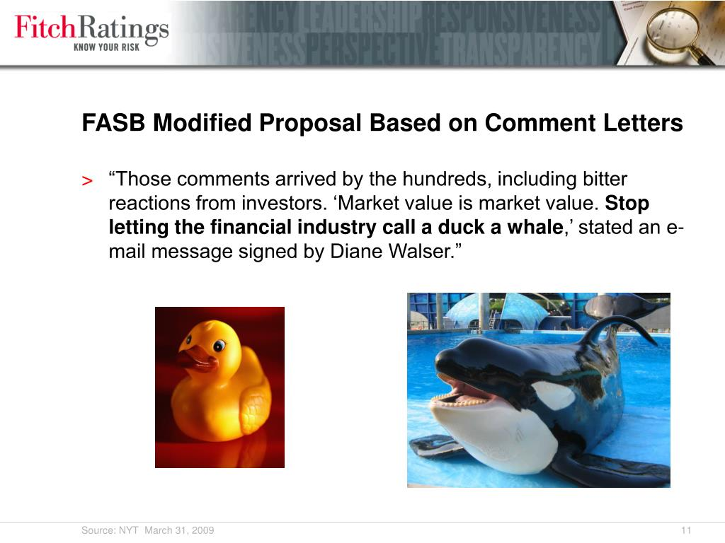FASB Modified Proposal Based on Comment Letters