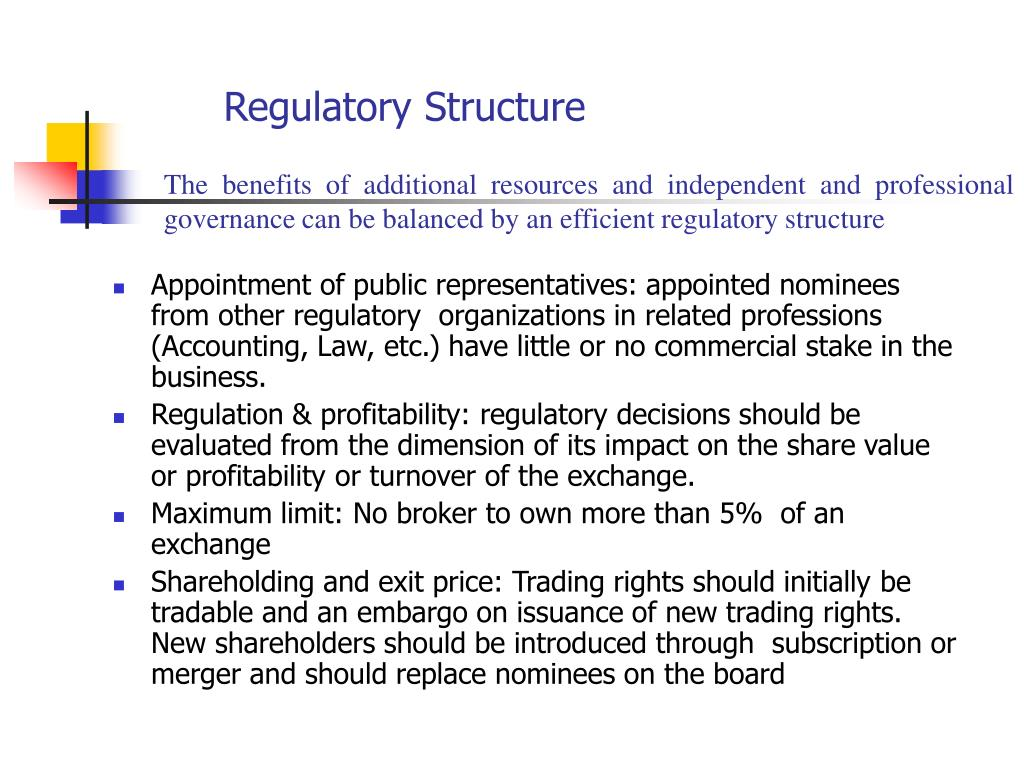 Regulatory Structure