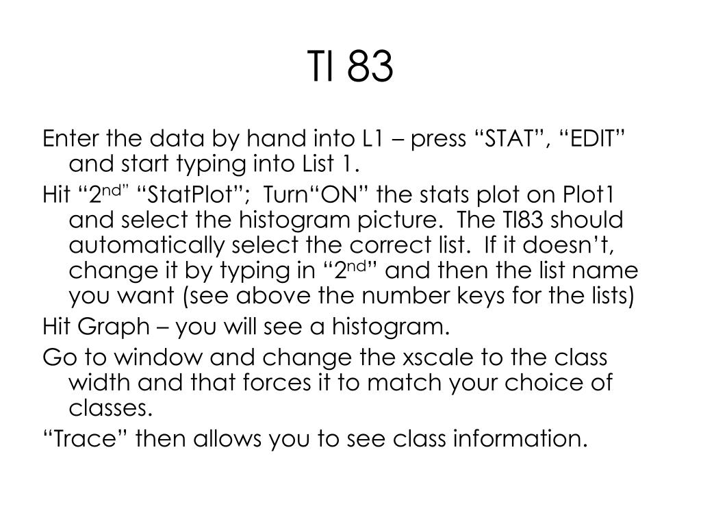 TI 83