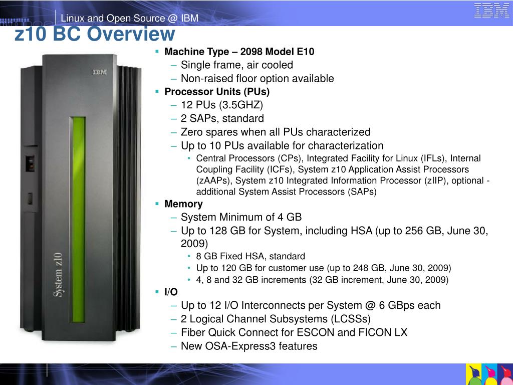 z10 BC Overview