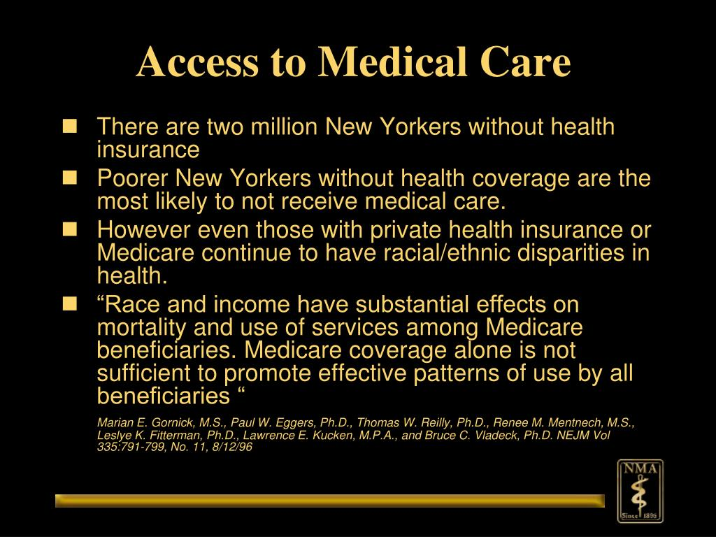 Access to Medical Care