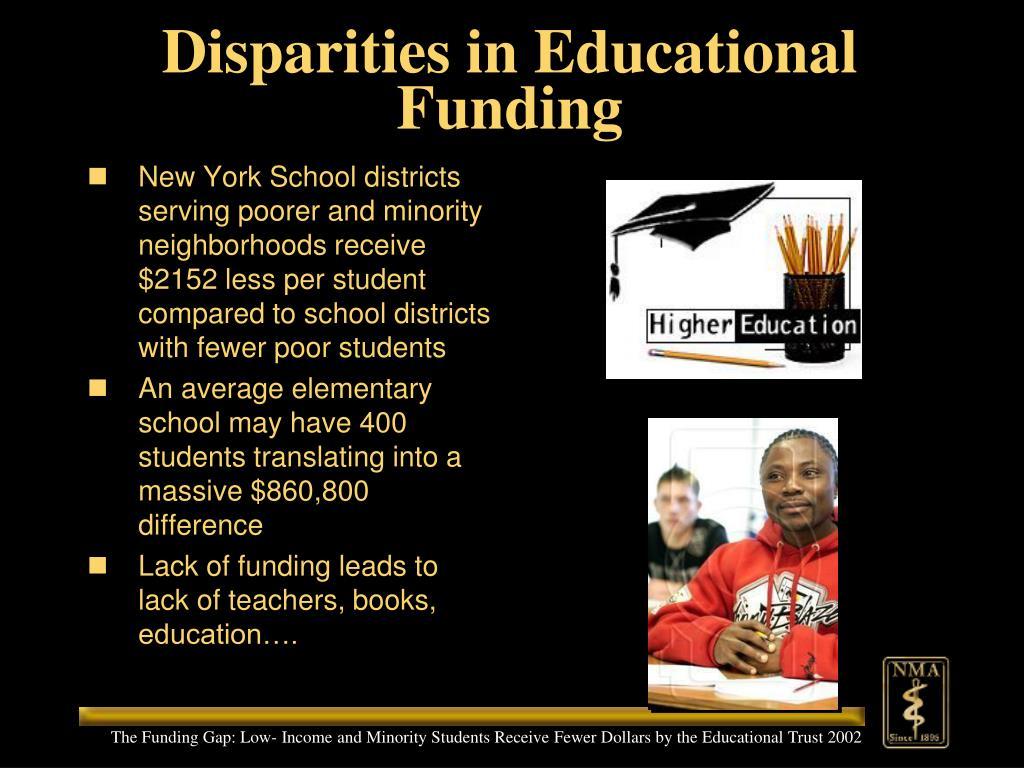 Disparities in Educational Funding
