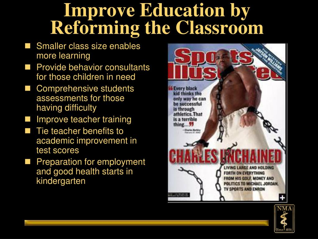 Improve Education by